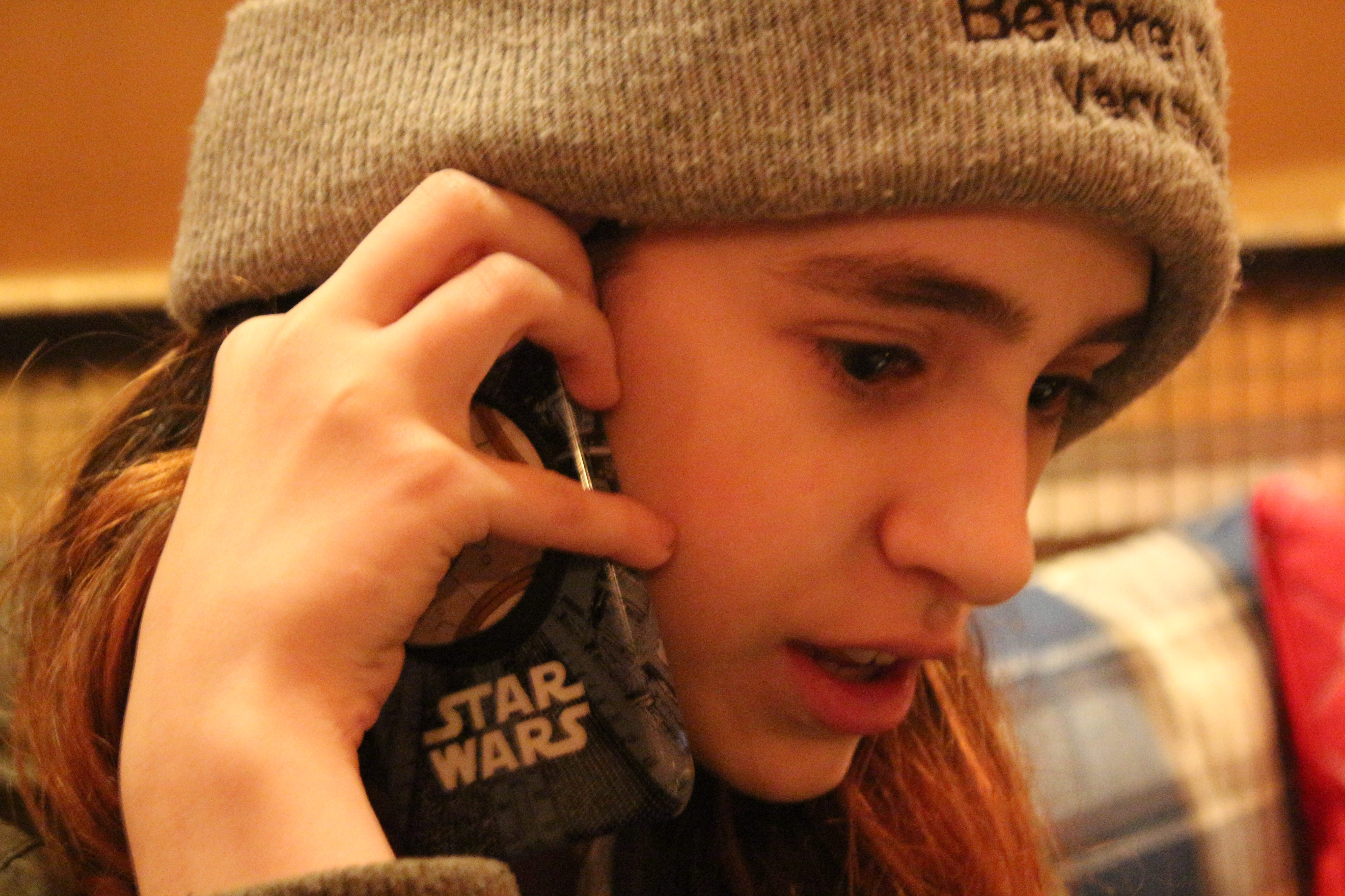 Maeve Press star wars phone