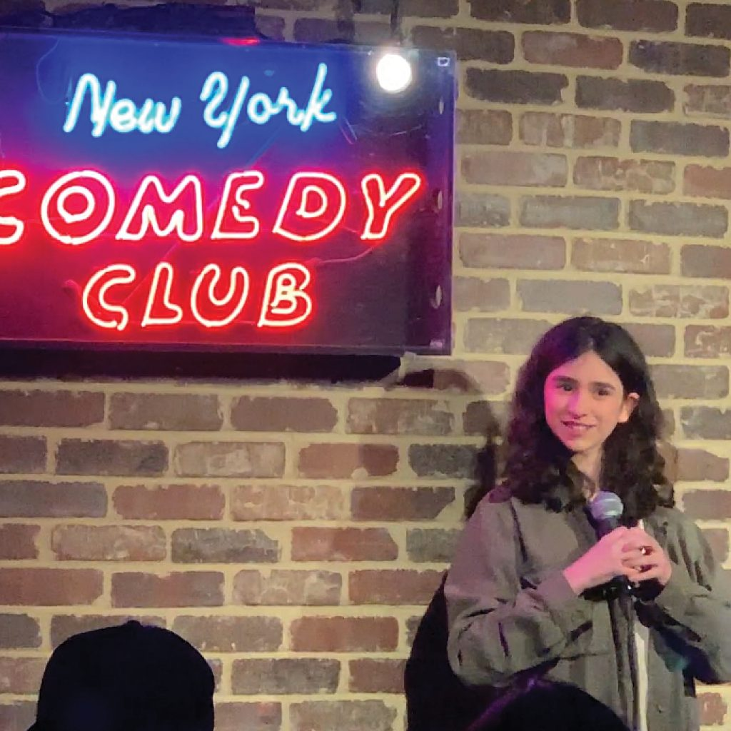 Maeve Press at New York Comedy Club