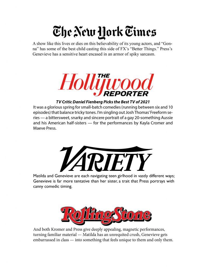 Reviews for Maeve Press